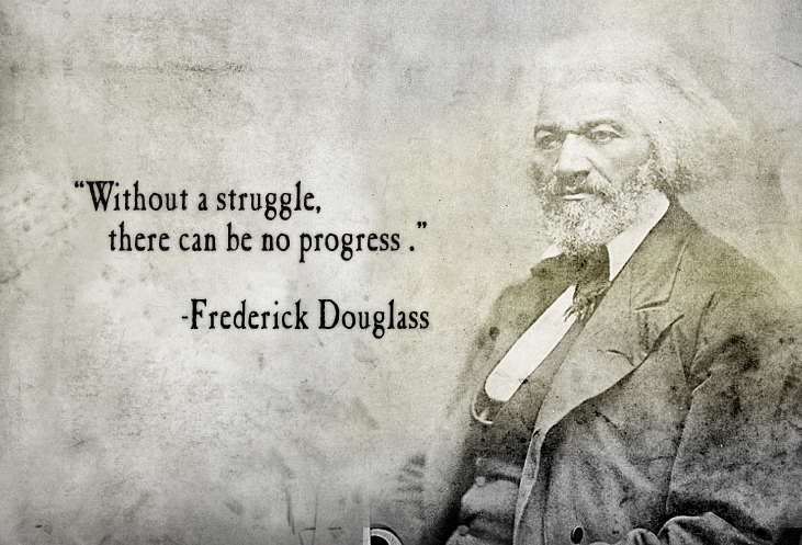 Writing a letter to frederick douglass